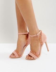 Босоножки на каблуке True Decadence - Розовый