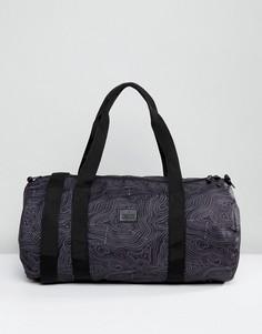 Черная сумка с принтом ASOS - Черный
