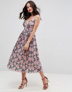 9c37dec84b45 Купить женское платье с глубоким вырезом - цены на платья с глубоким ...
