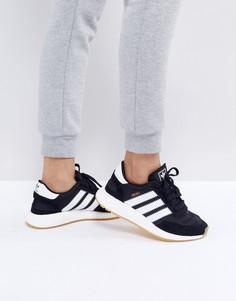 Черные кроссовки adidas Originals Iniki - Черный