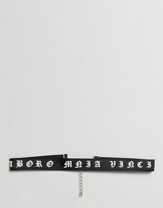 Ожерелье-чокер ASOS - Черный