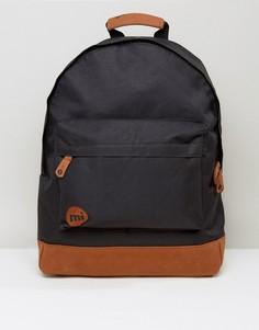 Черный классический рюкзак с контрастной отделкой Mi-Pac - Черный