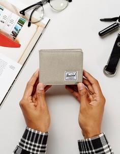 Бумажник с отделением для монет и RFID от Herschel Supply Co. Roy - Бежевый