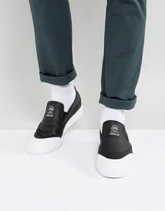 Черные кроссовки-слипоны adidas Skateboarding Matchcourt CG4512 - Черный