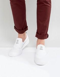 Белые кроссовки без застежек adidas Skateboardnig Matchcourt CG4511 - Белый