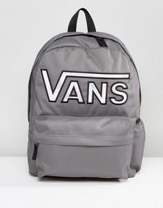 Серый рюкзак с камуфляжным принтом Vans Realm - Серый