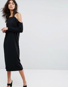 Платье Selected - Черный