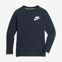 Свитшот с длинным рукавом для мальчиков школьного возраста Nike Sportswear Tech Fleece