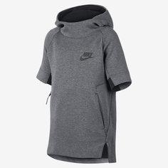 Худи с коротким рукавом для мальчиков школьного возраста Nike Sportswear Tech Fleece