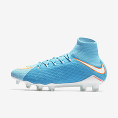 Женские футбольные бутсы для игры на твердом грунте Nike Hypervenom Phatal 3 DF