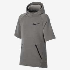 Худи для тренинга с коротким рукавом для мальчиков школьного возраста Nike Dry