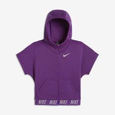 Худи для тренинга с коротким рукавом для девочек школьного возраста Nike Dry Core Studio