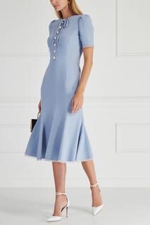 Однотонное платье Dolce&;Gabbana