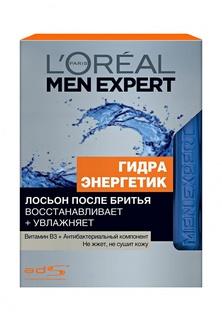 Лосьон после бритья LOreal Paris Men Expert Гидра Энергетик с антибактериальным эффектом 100 мл