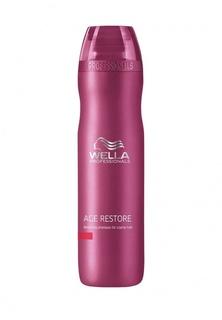 Восстанавливающий шампунь для жестких волос Wella Age Line 250 мл
