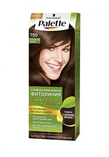 Краска для волос Palette ФИТОЛИНИЯ 750 Золотистый каштан, 110 мл