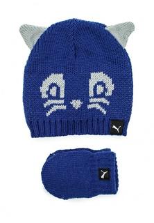 Комплект шапка и перчатки Puma