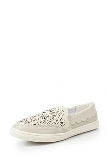 Слипоны LOST INK LYRA LASER CUT SLIP ON PLIMSOLL