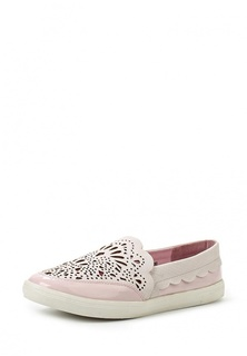 Слипоны LOST INK MARIS LASER CUT PLIMSOLL