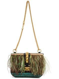 feather shoulder bag Valentino Garavani