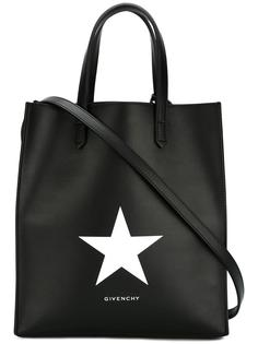 сумка-тоут с принтом звезды Givenchy