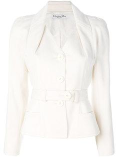 приталенный пиджак  Christian Dior Vintage