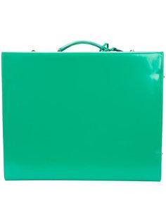 квадратный чемодан Mark Cross
