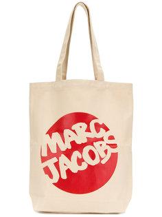 branded canvas bag Marc Jacobs