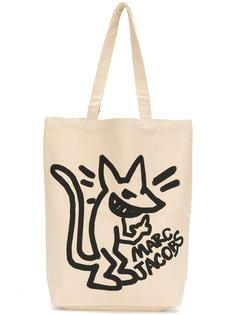 stinky rat print canvas bag Marc Jacobs