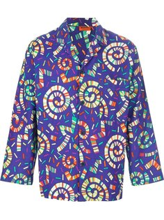 блузка с принтом в стиле ретро Missoni Vintage
