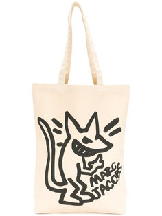 stinky rat print tote Marc Jacobs