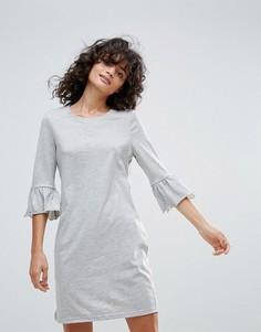 Платье с рукавами клеш Vero Moda - Серый