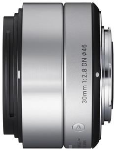 Объектив Sigma Sony E AF 30 mm F/2.8 DN ART for NEX Silver