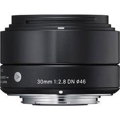 Объектив Sigma Sony E AF 30 mm F/2.8 DN ART for NEX Black