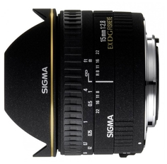 Объектив Sigma Canon AF 15 mm F/2.8 EX DIAGONAL FISHEYE
