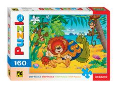 Пазл Step Puzzle Львенок и черепаха 72008