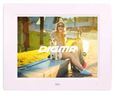 Цифровая фоторамка Digma PF-833 White