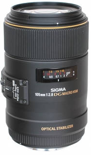 Объектив Sigma Canon AF 105 mm F/2.8 EX DG OS HSM Macro