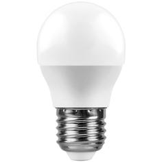 Лампочка Feron LB-550 9W 230V E27 2700K G45 25804
