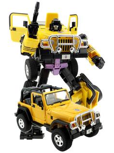 Игрушка Город игр Робот трансформер Джип XXL D636827