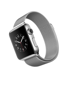 Умные часы APPLE Watch 38mm with Milanese Loop MJ322RU/A