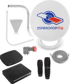 Комплект спутникового телевидения Триколор ТВ GS E501 + GS C5911 Сибирь Black 046/91/00045500