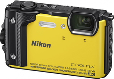 Фотоаппарат Nikon Coolpix W300 Yellow