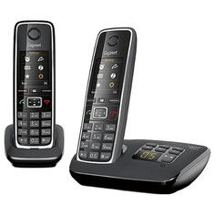 Радиотелефон Gigaset C530A DUO / C530AM DUO Black
