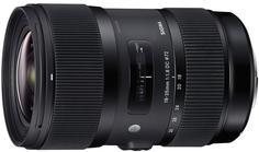 Объектив Sigma Canon AF 18-35 mm F/1.8 DC HSM ART