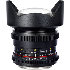 Объектив Samyang Sony E NEX MF 14 mm T3.1 ED AS IF UMC VDSLR