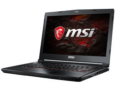 Ноутбук MSI GS43VR 7RE-201RU 9S7-14A332-201 (Intel Core i7-7700HQ 2.8 GHz/16384Mb/1000Gb + 256Gb SSD/nVidia GeForce GTX 1060 6144Mb/Wi-Fi/Cam/14.0/1920x1080/Windows 10 64-bit)