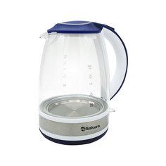 Чайник Sakura SA-2711 White-Blue