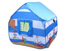 Игрушка для активного отдыха Палатка СИМА-ЛЕНД Морской домик Blue 113787