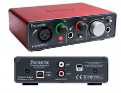 Звуковая карта Focusrite Scarlett Solo USB 2nd Gen